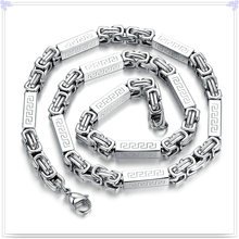 Joyería de moda joyería collar cadena de acero inoxidable (sh056)
