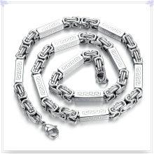 Мода Ювелирные изделия Ювелирные изделия ожерелье из нержавеющей стали цепи (SH056)