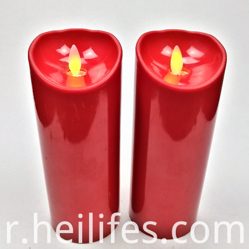 Red Lights Festival Gifts Candle
