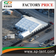 Songpin Tent Fabricante 20x20m PVC Carpa con paredes laterales catedral