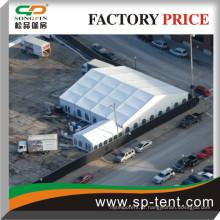 Fabricante da barraca de Songpin 20x20m Tenda do PVC com paredes laterais da catedral