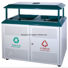 Compartimiento de basura clasificado al aire libre (DL100)