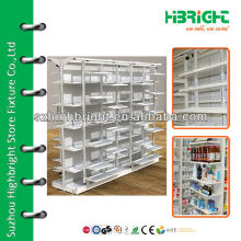 pharmacy gondola shelves for sale