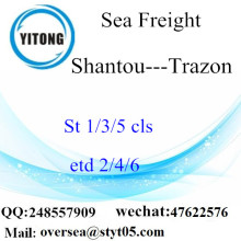 Shantou Port LCL Consolidation To Trazon