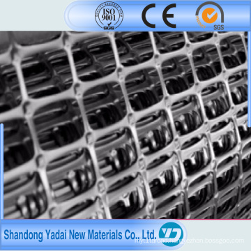 Hot Sale Biaxial Plastic Geogrid for Road