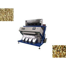 Multi-Function Bean Sorting Machine , LED Optical Rice Colo