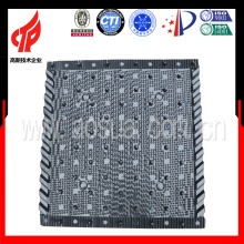 Remplissage en PVC 750 * 800 Liangchi pour pièces de la tour de refroidissement carré