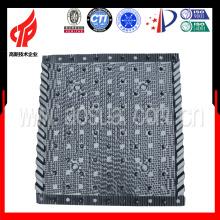 Recheio de PVC 750 * 800 Liangchi para peças de torre de resfriamento quadrado