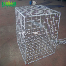 Berat Galvanis Welded Gabion Box Wire Mesh