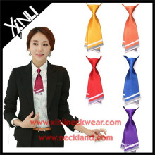 Printed Wholesale Polyester Tie Neckties for Girls in School