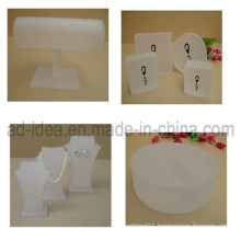 Frosted Acrylic Display Stand/Display Stand for Jewelry Exhibtion