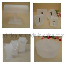 Матовая акриловая подставка для дисплея / стенд для экспонирования ювелирных изделий