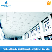 Factory price 600x600 perforated suspended metal panels square aluminum ceiling tiles
