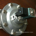 2 inch rectangular pulse solenoid valve