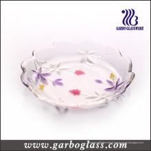 Plaque de gâteau en verre (PJ-349-1C)