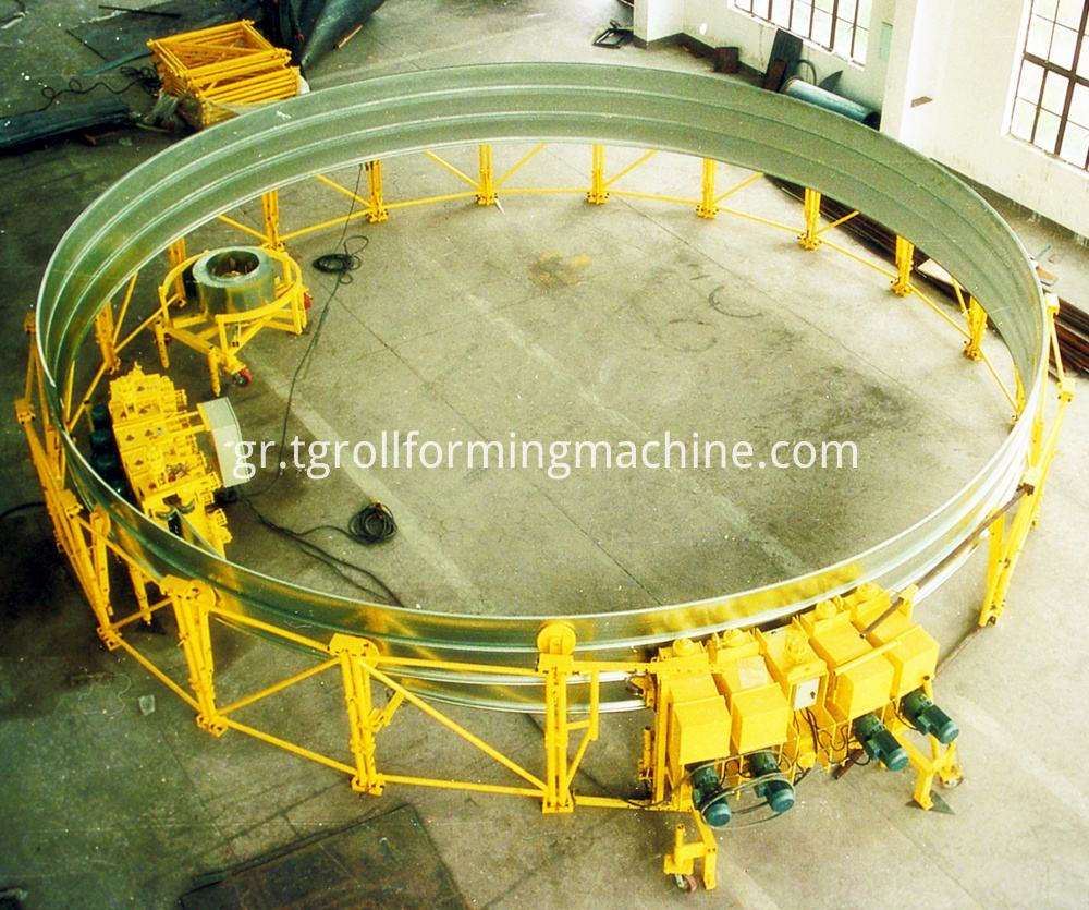 Steel Strip Forming Machine