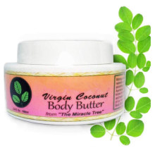 Hot Selling Natural Coconut Soothing and Moisturizing Body Butter Cream