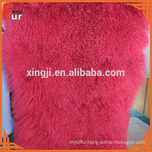 China Factory Real Fur Plate Tibet Lamb Fur