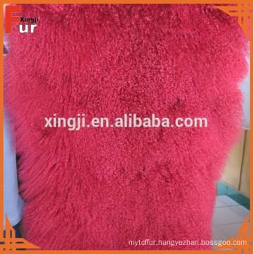 China Factory Real Fur Plate Tibet Lamb Fur