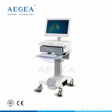Clinic furniture hospital movable medicare workstation nursing computer cart