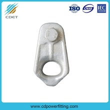 Galvanized Steel Thimble Chevis for Tension Clamp
