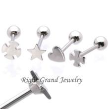Gros Unique en acier inoxydable Barbell bijoux Hotsale langue Barbell piercing