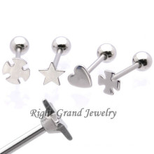 Wholesale Unique Stainless Steel Barbell Jewelry Hotsale Tongue Barbell Piercing