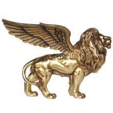 2018 venta caliente mejor venta famosa estatua de bronce del león volador