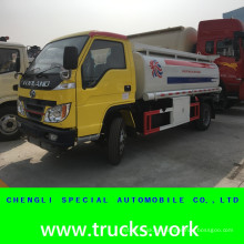 5000liters LHD Diesel transporte combustible válvula de camión