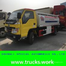5000liters LHD huile Transport gasoil EPURATEUR camion