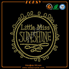 Little Miss Sun Shine t shirt transfers