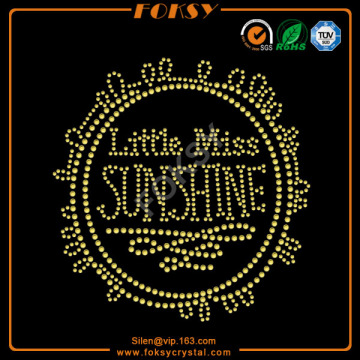 Little Miss Sun Shine t shirt transfers