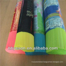 high quality low price PVC/PP/PET/PBT brush filaments