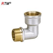J17 5 11 3 cuivre raccord de lumière en plastique à cuivre raccord de compression laiton mâle filetage mamelon en laiton 10mm raccords de compression