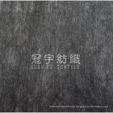 Tecido 100% poliéster chenille liso para tecido de estofamento
