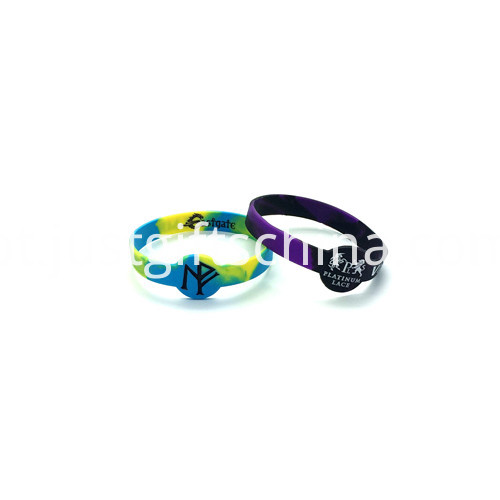 Promotional Figured Printed Silicone Wristbands-202122mm2