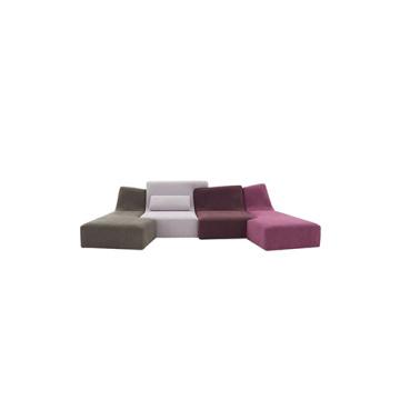 Modular Couch Living Room 4-Seat Confluences Sofa