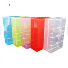 18650 battery travel case OEM battery plastic case/box
