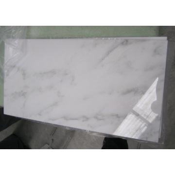 Azulejo de mármol blanco chino de Calacatta