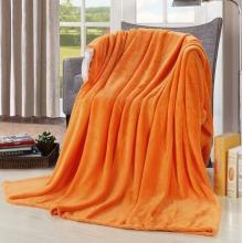 Cobertura cor-de-laranja de Jaffa, coral Cobertor De Lã