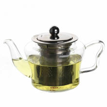 Best Selling Glass Teapot Stainless Steel Infuser