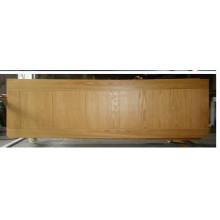 Porta de madeira composta interior agradável