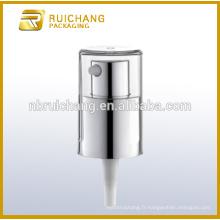 Pompe à crème cosmétique en aluminium, pulvérisateur à brume cosmétique