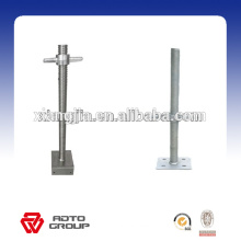 Simple structure simple erection Adjustable scaffolding screw jack for africa