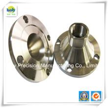 6061 Polier und Bürsten-Aluminiumflansch mit CNC-Drehen