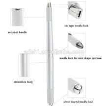 Sobrancelha microblading Manual Tattoo Pen, Sobrancelha 3D Microblading Handmade Pen