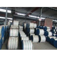 Hilo de alambre de acero galvanizado para conductor ACSR