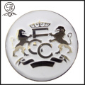 Gold Football club pin badges metal
