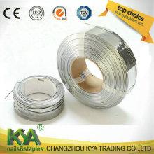 Спиральный провод для изготовления гвоздей