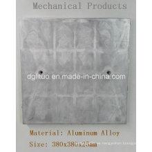 Placa inferior de calentamiento de piezas de fundición a presión de horno